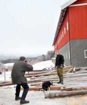 Bilde av Arvid Gjelten og Ole Anton foto  JØ