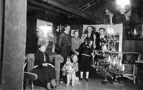 Bilde av julekveld-1942,S.Moen foto Per S. Moen