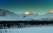 Bilde av Rondane i morgenlys foto Jo Øfvergaard