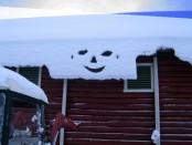 Bilde av mannen i snøraset foto Terje Brønd