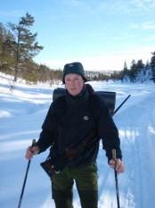 Bilde fra Slovarpmyra under jaktskifelt 28.02.10. Foto Hans Sollid