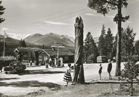 Bilde av IAtnasjø Kafe 1960 foto Noprmann