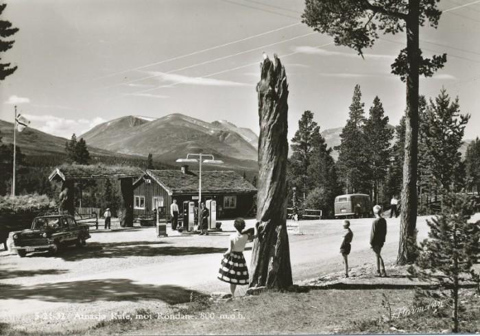 Postkort fra 1960 tallet fotograf Normann. Bildet utlånt av Svein Arne Sandom