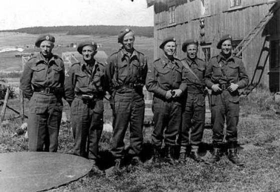 Bilde av Grebe mai 1945 foto Arne Steihaug
