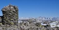 Vårbilde fra toppen av Muen 2. juni. Foto Rondane Gjestegård Enden