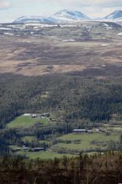 Bilde av vår i Øverdalen. Foto Mari Røstum