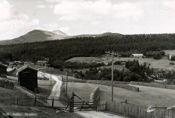 Bilde av postbort fra Sør Brænd