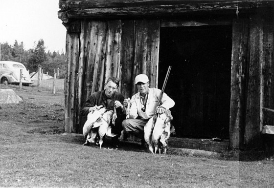 Bilde av Andejakt Anton og Rolf 1947