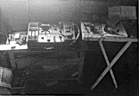 Bilde av Grebe sin radiostasjon foto Odvar Doblaoug