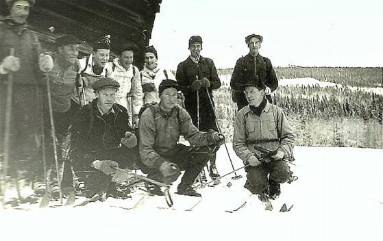 Bilde av sauleting 4.juledag 1955 foto Rolf Øvergaard