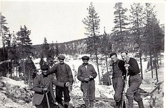 Bilde av fra Svellingdalen (1)på 1950-tallet