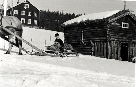 Bilde av påsketur med hest foto Kari Moen Øvergaard