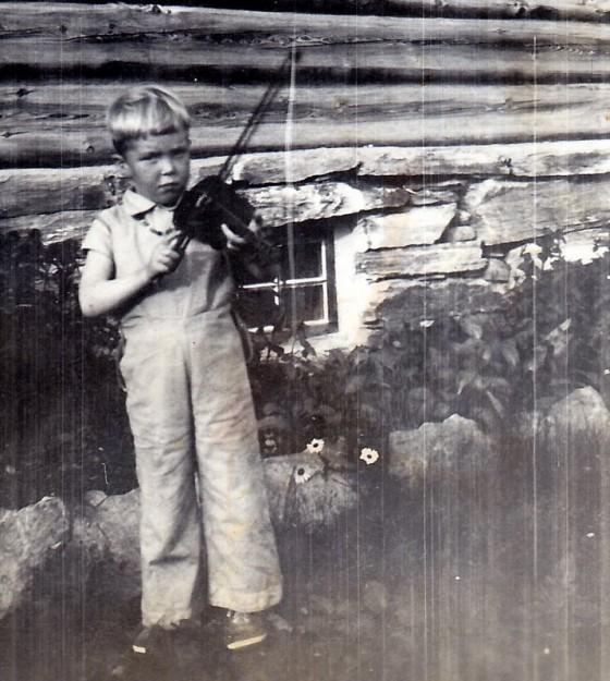 Bilde av Gjermund med fela