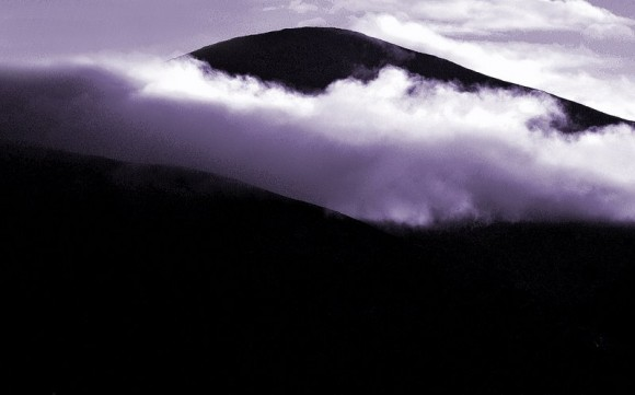 Bilde av mørke skyer foto Per Bjørkum
