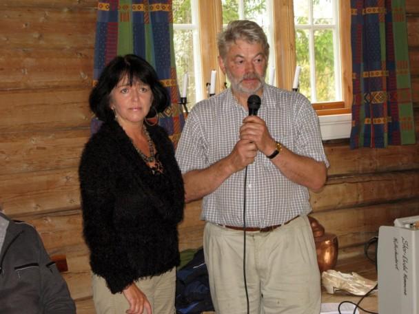 Gunhild og Bjørn i sving på Solvang. Foto Hans Sollid