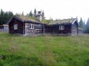 Bilder av setra til Søre Finstad i dag