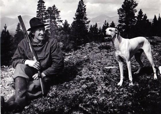 Bilde av Oldbjørn Per og Ponto foto Per S Moen