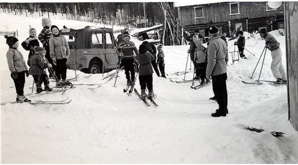 Bilde av skibursdag. Foto Kari Moen Øvergaard