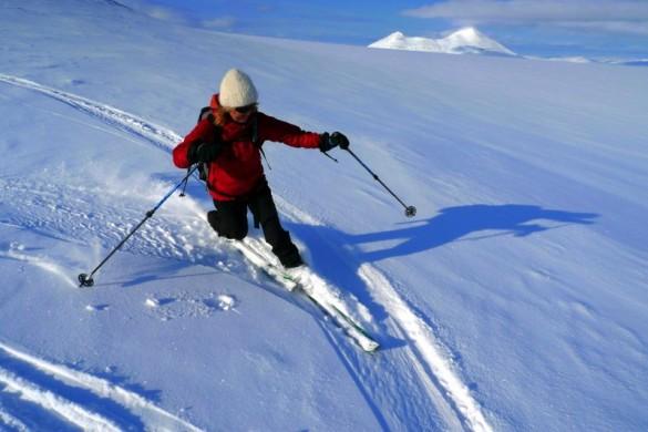 Siste helga i april og drømmeføre i fjellet foto Torstein Stoaraas.