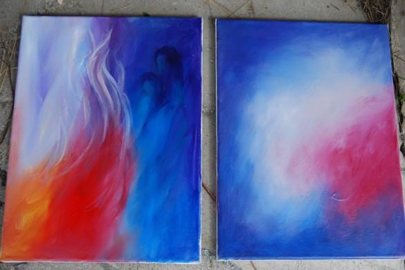 To av Turid Kristine Sems uttrykk Bilde 49: Kursholderne Randi Kjeldsen og