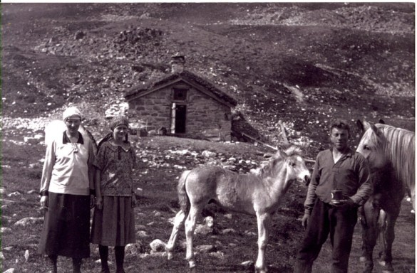 Hos hestgjæteren ved Vulutjern 1925