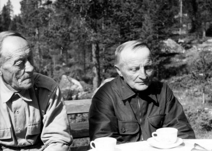 Sigurd Svendsen og Hans Nyhus foto Inger Heiberg.