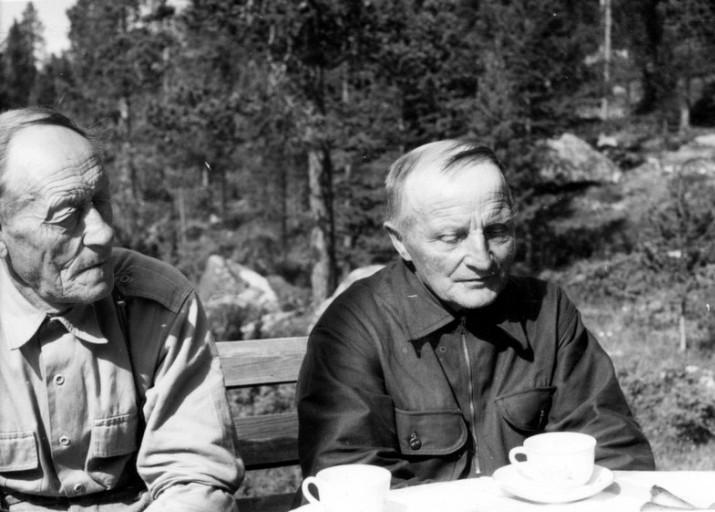 Sigurd Svendsen og Kristian Nyhus foto Inger Heiberg.