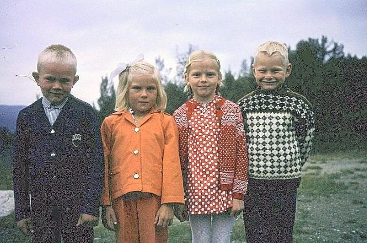 Erik Hemli,Ingrid Brænd,Rita Gundersen og Even Moen. foto Knut Singstad