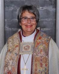 Biskop Solveig Fiske. Bilde fra nettet.