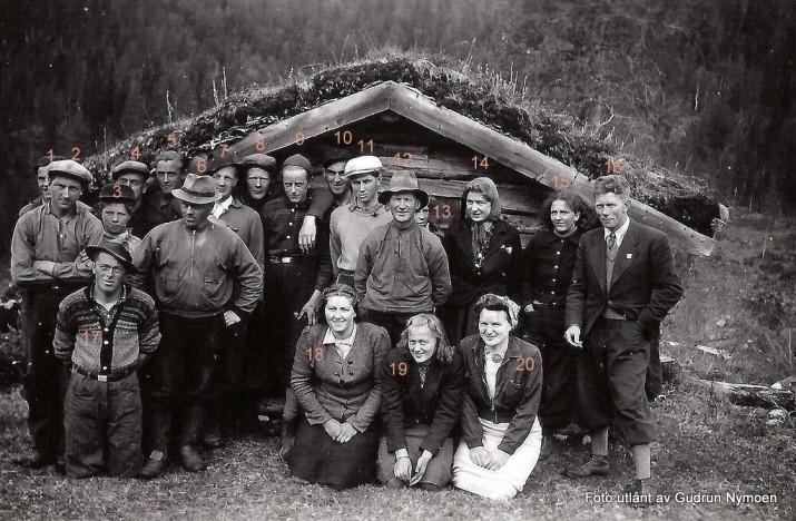 kogplantring borti Bretningslia. Foto utlånt av Gudrun Nymoen
