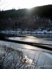 Bilde av isen legger seg. Foto Anne & Glenn Kulstad-Sund