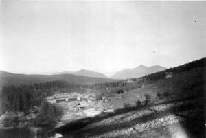 Brua ble sprengt i 1940 foto Rolf Øvergaard