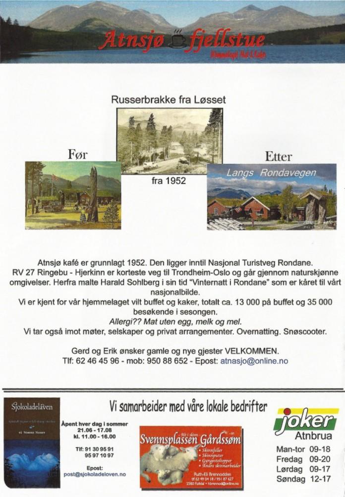 Atnasjø Fjellstue - side 4