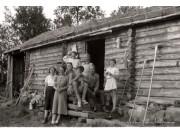 Gamle bilder fra Nygardssetra
