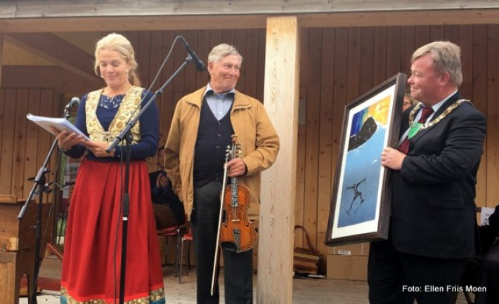 Sven Nyhus får årets Fossegrimpris