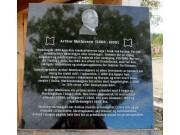 Tilbakeblikkpå Fossedagene: Årets minneplate