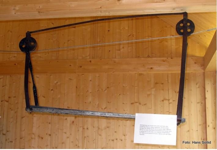 Fløtterstol som ble brukt i Atna