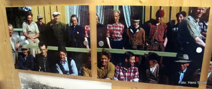 Bilder fra film tilh. Mathiesen Atna