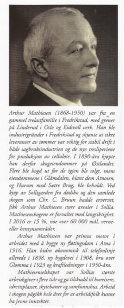 Bilde fra boka om fløtinga i Atnavassdraget
