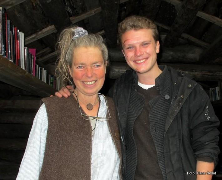 Tina og Jacim Ingulstad