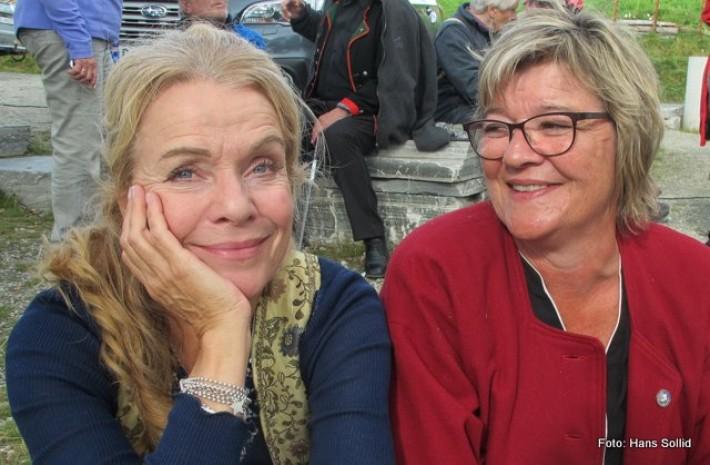 Beate Eriksen og Anne Grethe Toften