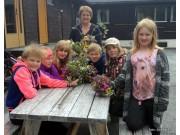 Sollia skole aktivt med  på Fossedagene