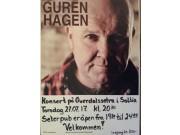 Konsert med Guren Hagen