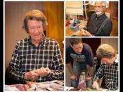 Foran Fossedagene: Knivmakeren Knut Dahl kommer til markedsplassen på Jomsborg