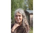 Foran Fossedagene: Tina Buddeberg kommer til markedsplassen på Jomsborg