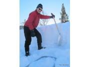 Sjekk snøen på hyttetaket