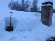 Snørapport fra Øverdalssetra