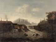 Utstilling med historiske fossebilder
