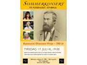 Minner om Vinjekonsert i Fossehuset 17. juni kl. 19.00