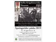 Sollia Krigshistoriske Museum åpent i påskeuka